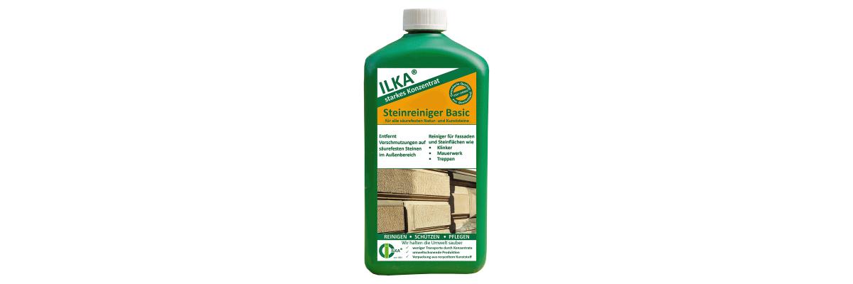 ILKA Steinreiniger Basic jetzt auch für Endverbraucher - ILKA Steinreiniger Basic - für Endverbraucher | laguz-waterproof