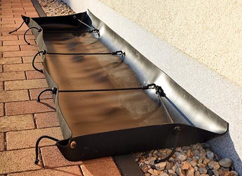 KaGe-Auffangewanne nicht selbststehend zur Fassadenreinigung