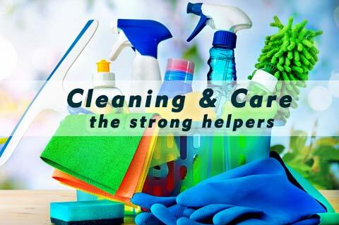 Cleaning & care products from ILKA Chemie