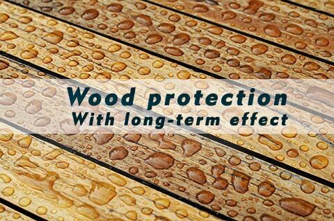 Wood preservative for almost all untreated wood types -...