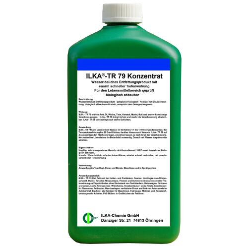 ILKA®-TR 79 Deep Cleaner Concentrate 1 ltr