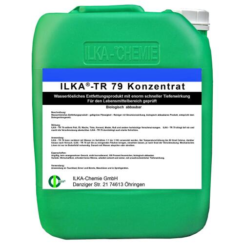 ILKA®-TR 79 Deep Cleaner Concentrate 10 ltr